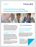 Centralized & Automated Key Management for payShield HSMs - Solution Brief