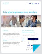 Enterprise Key Management Solutions - Solution Brief