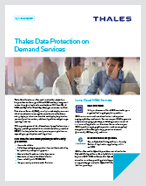 Thales Data Protection On Demand Services - Solution Brief
