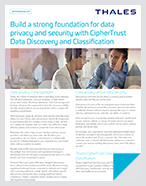 Build a strong foundation for data privacy and security - Solution Brief