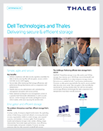 Dell EMC PowerMax and Thales - Solution Brief