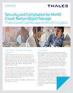 Security and Compliance for MinIO Cloud-Native Object Storage - Solution Brief