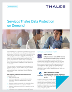 Serviços Thales Data Protection on Demand (DPOD) - Solution Brief