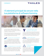 Top 5 Elements To Look for in Your Software Licensing Platform - Solution Brief