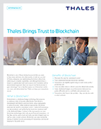 Bringing Trust to Blockchain with Thales HSM and SAS Solutions - Solution Brief