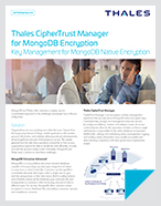 Thales CipherTrust Manager for MongoDB Encryption - Solution Brief