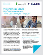 Implementing a Secure Big Data environment - Solution Brief