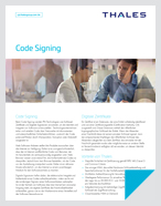 Code Signing