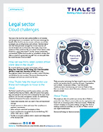 Legal sector Cloud challenges - Solution Brief