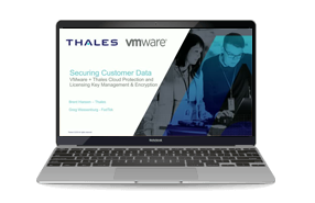 Safeguarding Sensitive and Compliance Data in VMware with Thales - Webinar
