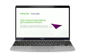 How to Secure Code Signing at the Speed of DevOps - Webinar